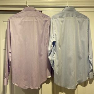 Calvin Klein slim fit dress shirt bundle